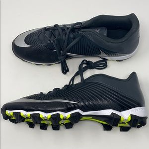 Nike VPR football cleats black silver